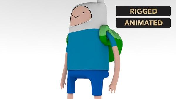 finn adventure time model
