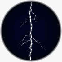 3D realistic lightning