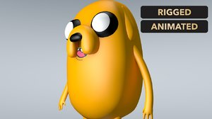 jake adventure time 3D model