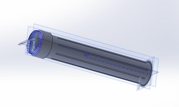 box battery 3D model
