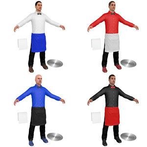 pack waiter model
