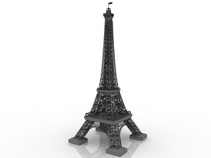 3D model towers