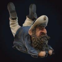 sailor figurine 3D
