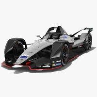 Gen2 Nissan Formula E Concept Car Season 2018-19