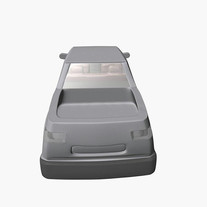 3D mind car model
