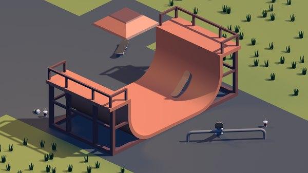 skate park model