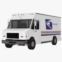 3D mail truck