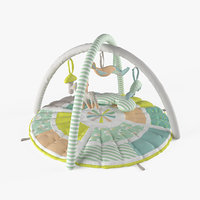 baby activity gym 3D model