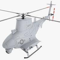 mq 8b uav 3D model