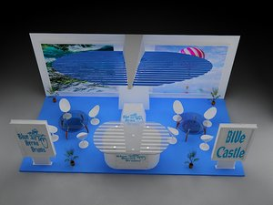 3D stall exhibition