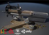 ue4 unity metallic model