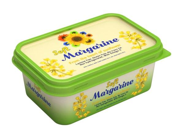 box margarin 3D model