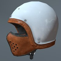 motorcycle helmet mask 3D