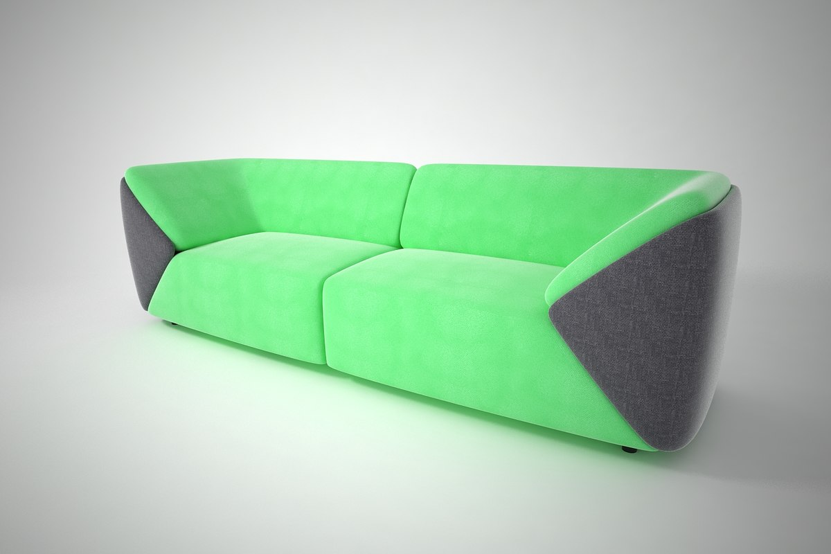 3D model furnishings sofa