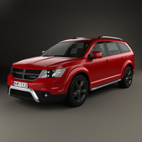 dodge journey crossroad 3D model