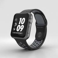 3D apple watch aluminum