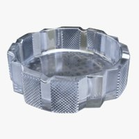 3D ashtray crystal model