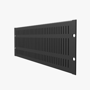 19-inch rack mount vented 3D model