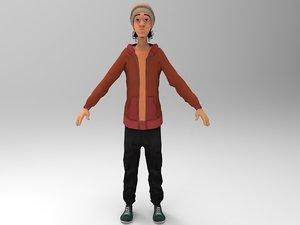 3D funky guy