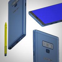 Samsung Note 9 NURBS formats