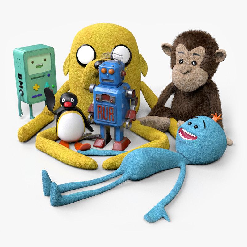 toys bmo jake 3D