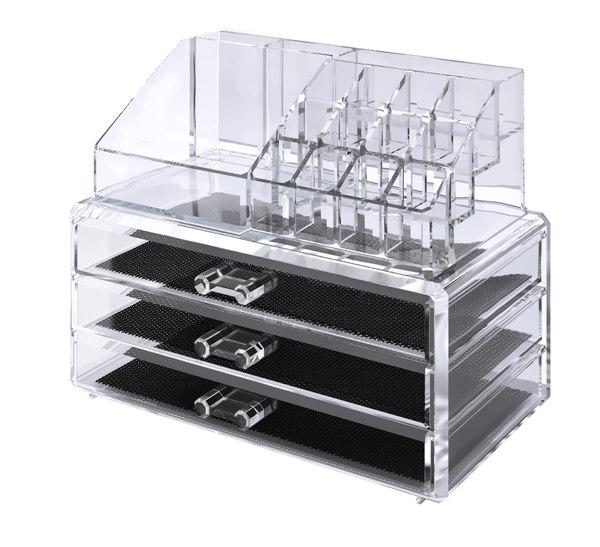 3D model acrylic organizer