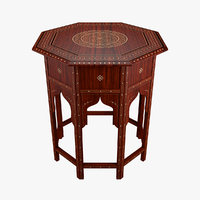 3D table moroccan
