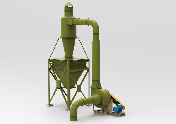 industrial cyclone dust collector model
