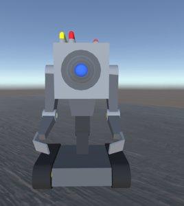 butter robot 3D model