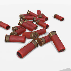 cartridges pbr 3D model