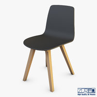 alki kuskoa chair 3D model