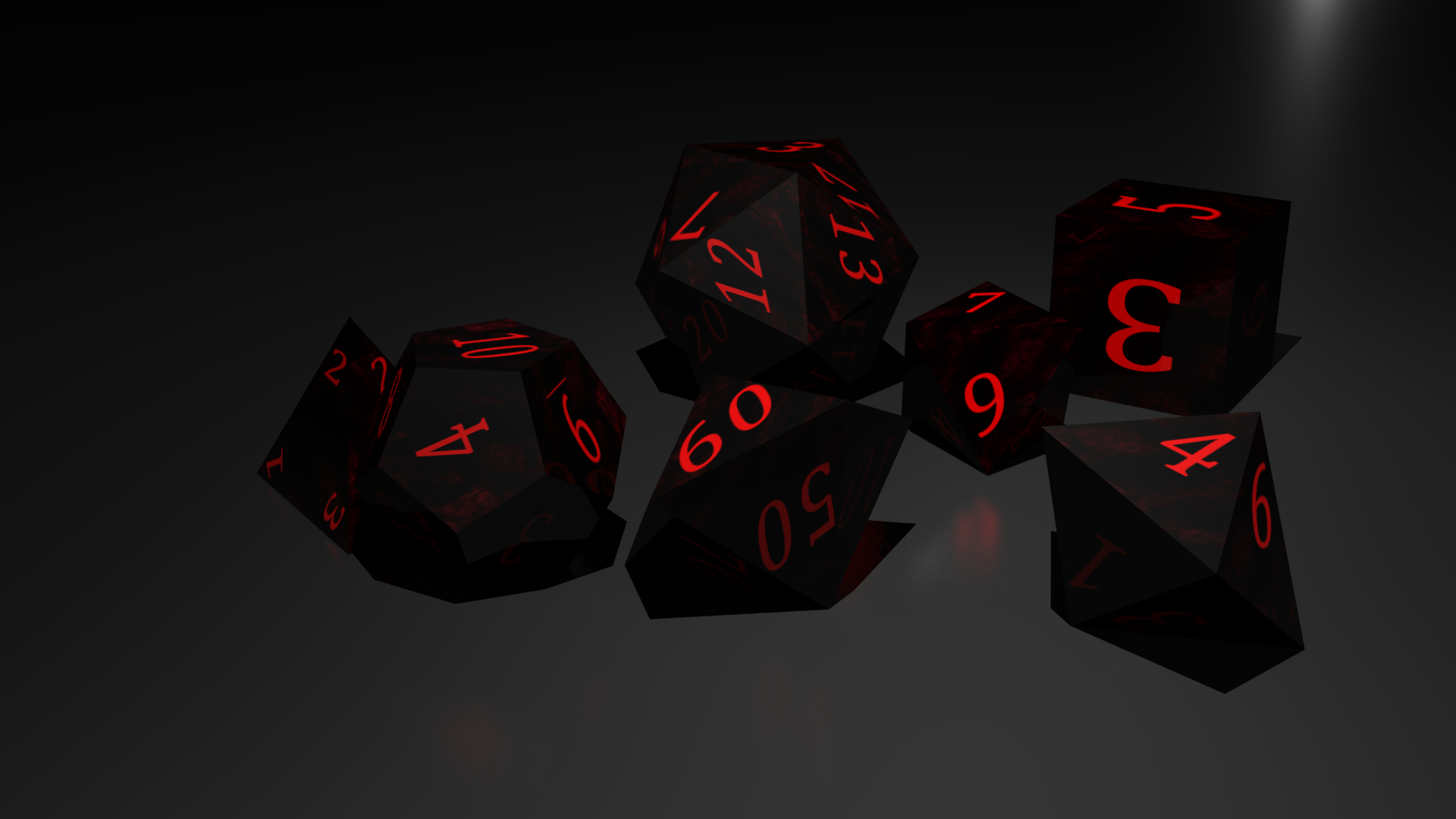3d Dnd Dice Model Turbosquid 1315268