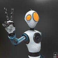robot pbr 3D model