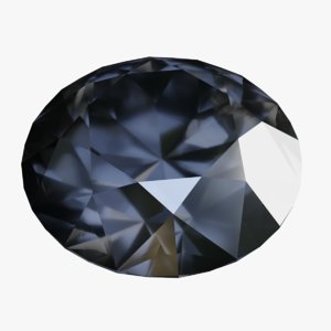 black diamond gem model
