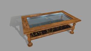 wood tablet 3D model