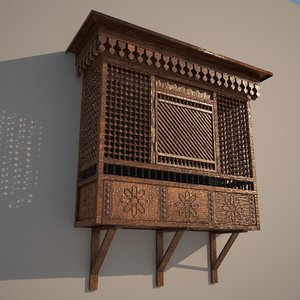 arabian window 3D