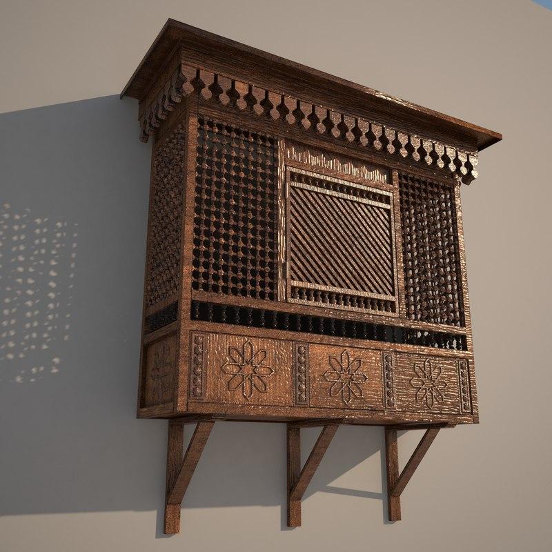 arabian window 3D