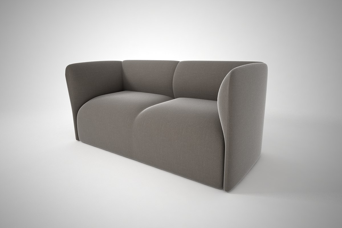 3D furnishings sofa