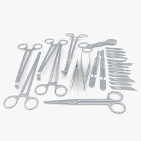 3D medical set -