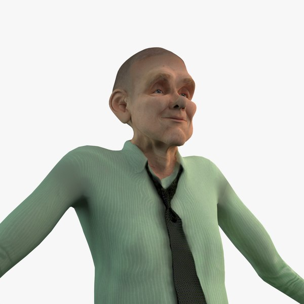 age animation rigging 3D model