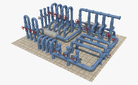 pipe industrial 3D model