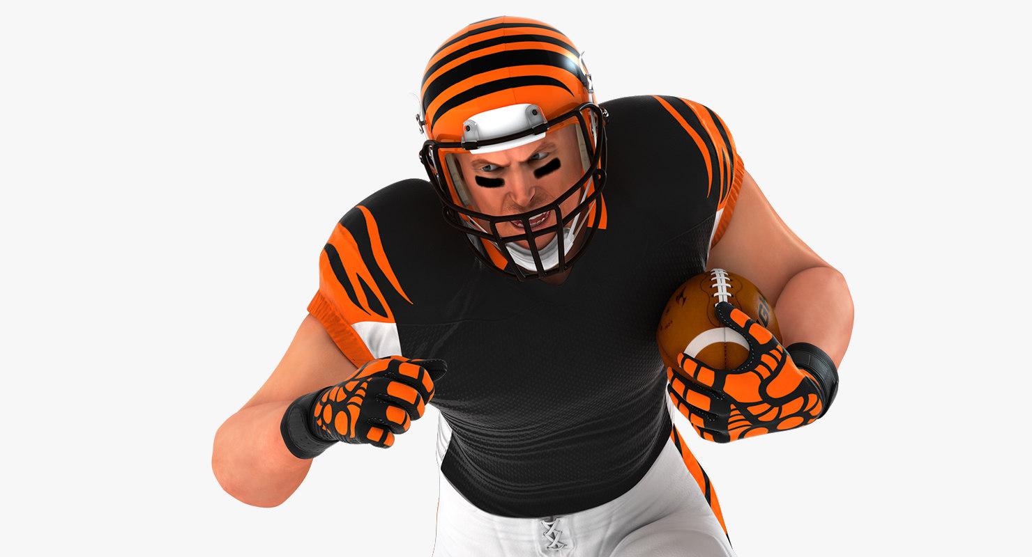 3D football american model