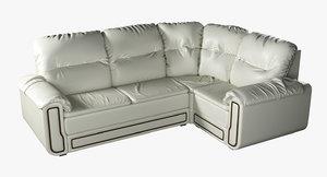 corner sofa seats 3D