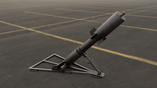 3D davidka little david mortar