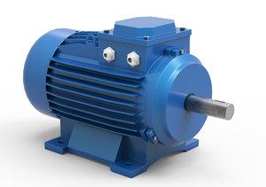 stationary electric motor model