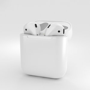 apple airpods air 3D model