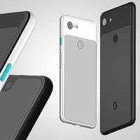 3D google pixel 3 3xl model