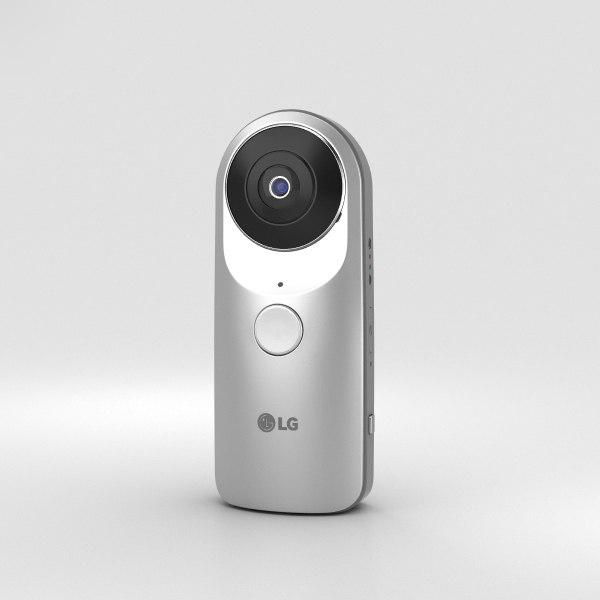 lg 360 cam 3D model