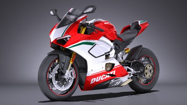 3D model ducati panigale speciale
