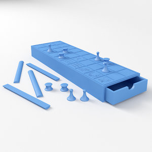 3D senet ancient printing model